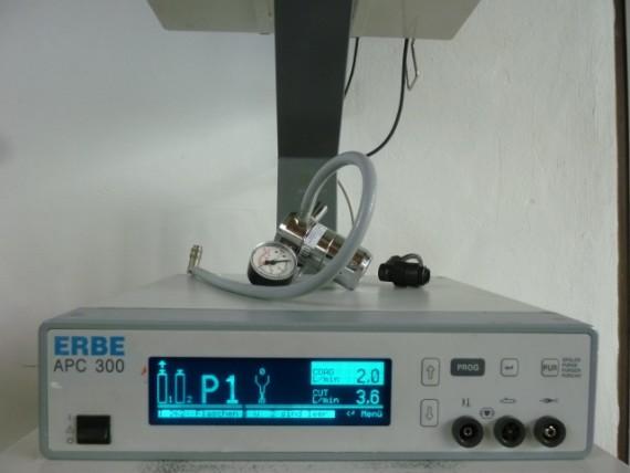 Figura 6: La sofisticata tecnologia argon plasma per la riduzione dei turbinati.