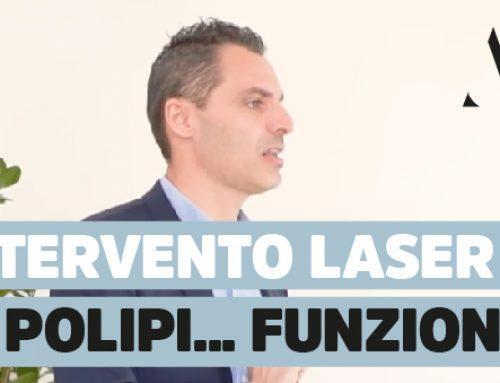 Come avviene intervento laser ai polipi nasali? Funziona?